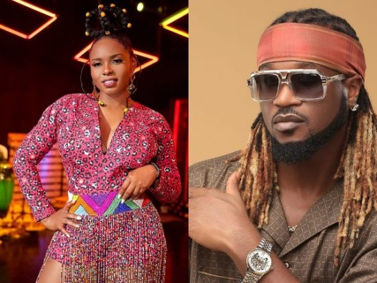 Rudeboy reacts to Yemi Alade stoning him during a video shoot